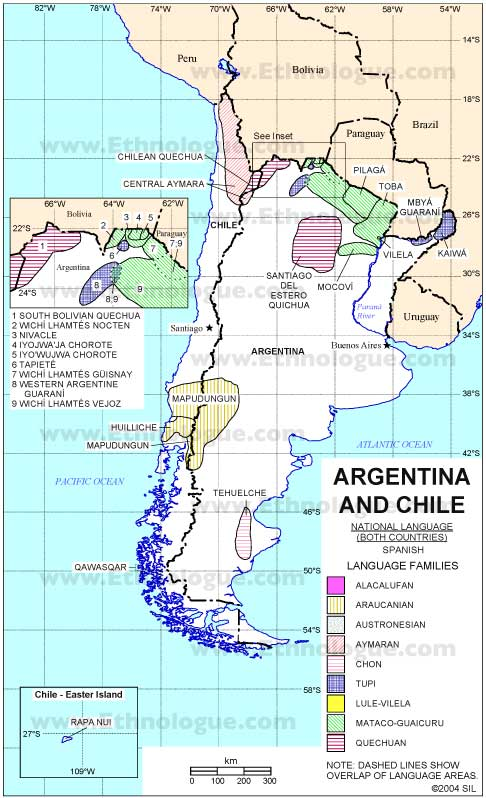 Indigenous People Of Argentina And Chile Map Argentina Travel Guide - Argentina chile map